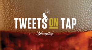 Yuengling Tweets on Tap